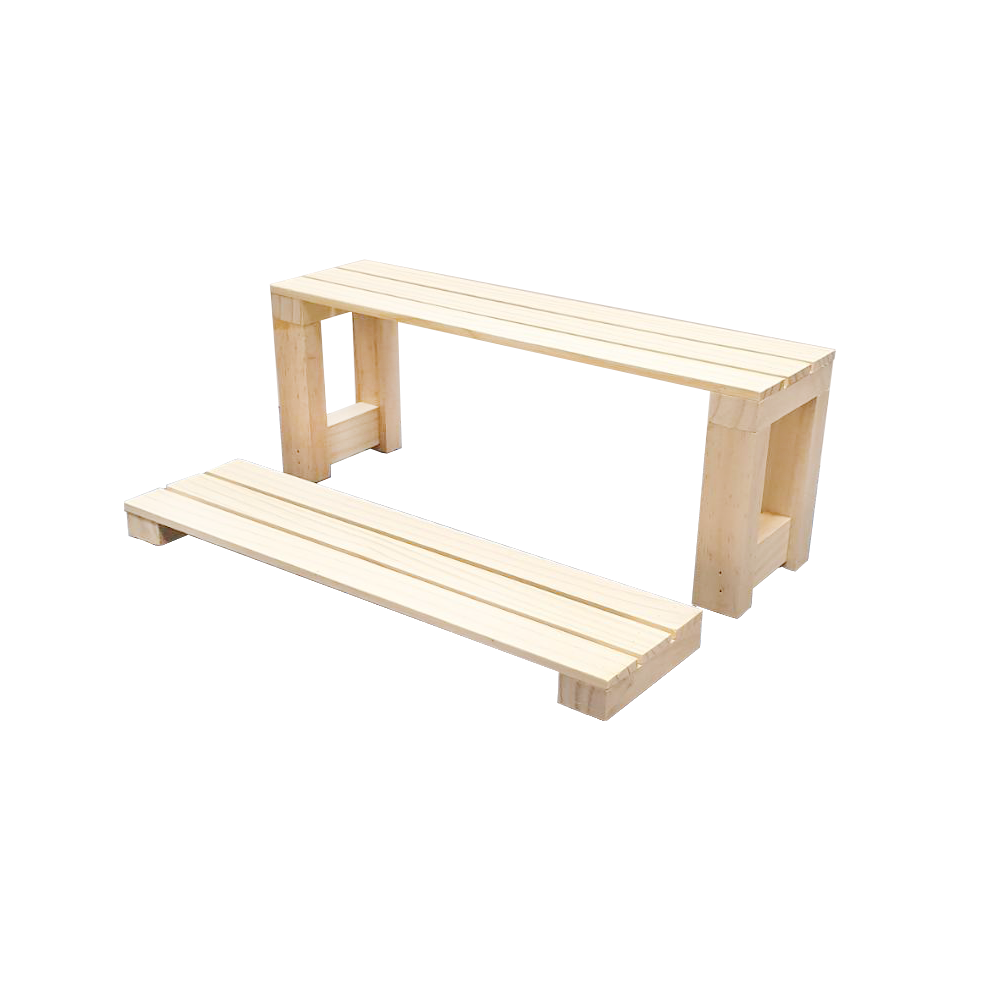 Wood Tabletop Collections Display Risers