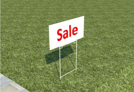 Metal Yard Signs for Garage Sale