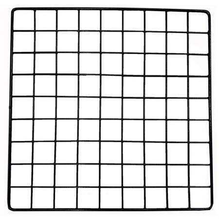 "Square Wire Grid - Square Wire Grid, Black, 14"" x 14"""