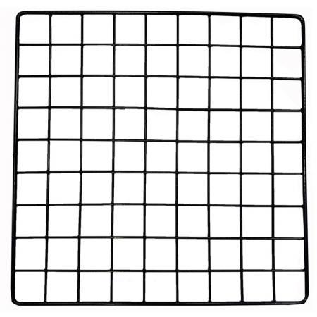 """Square Wire Grid - Square Wire Grid, Black, 14"""" x 14"""""""
