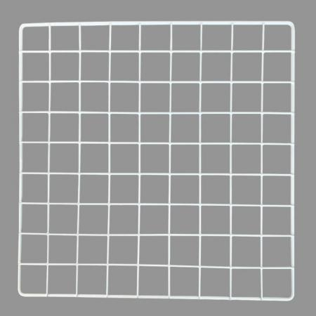 "Mini Metal Grid - Mini Metal Grid, White, 14"" x 14"""