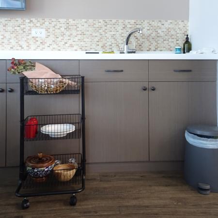 Kitchen 3 tier Storage Rolling Cart