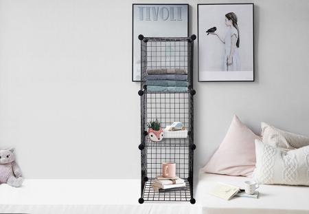 Bedroom Wire Storage Cubes