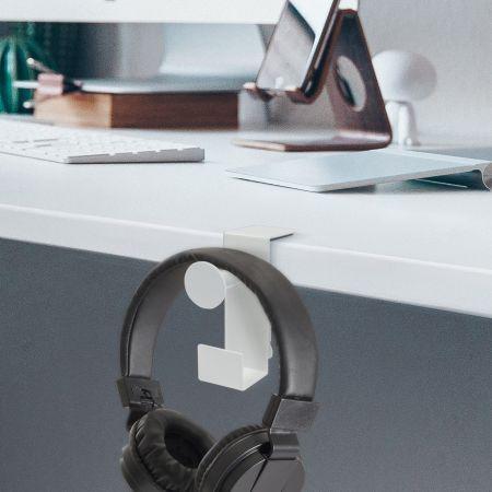 Under Desk Headphone Stand Hanger