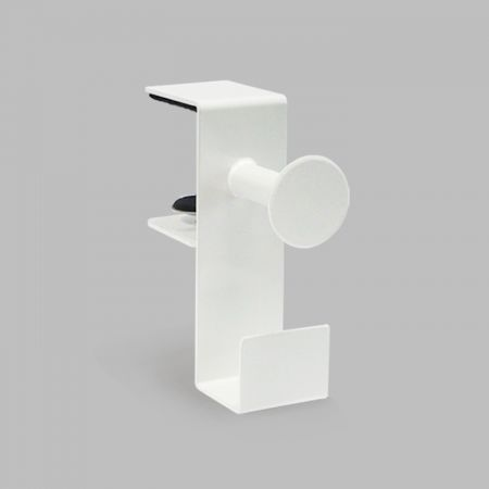 Desk Headphone Stand Clamp - Desk Headphone Stand Holder,White