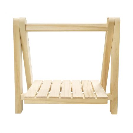 Tabletop Wood Hydroponics Plant Stand - Tabletop Wood Plant Stand