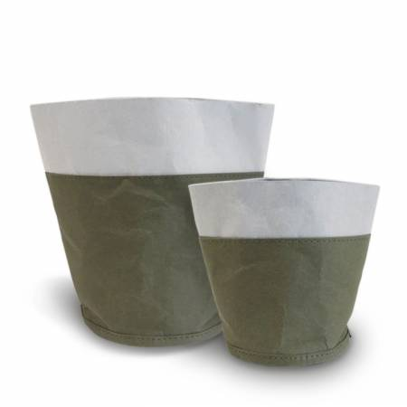 Kraft Paper Storage Basket Bag - Kraft paper flower pots, storage bags