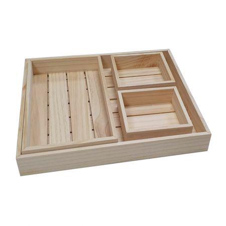 Wood Storage Box - Wood Storage Box
