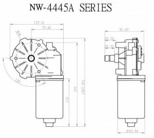 Window Motor - NW-4445A