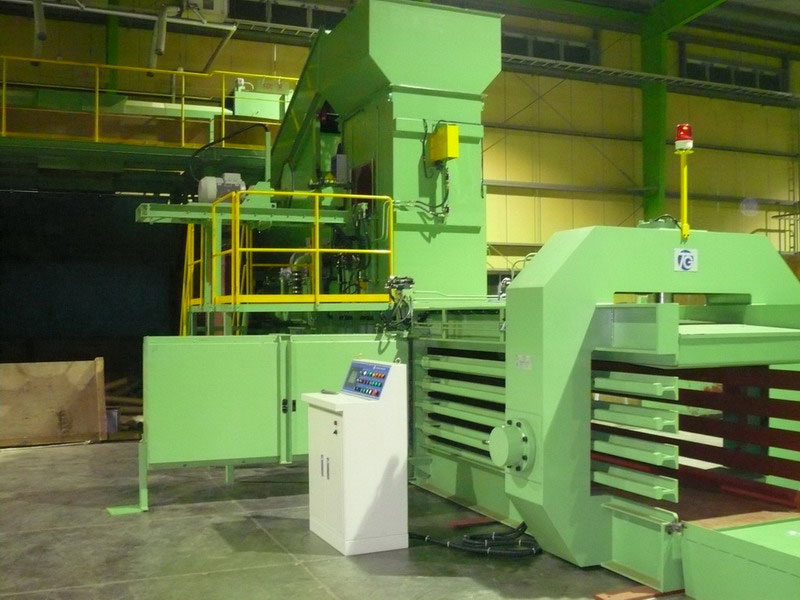 Automatic Horizontal Baling Machine - Automatic Horizontal Baling Machine (TB-101160)