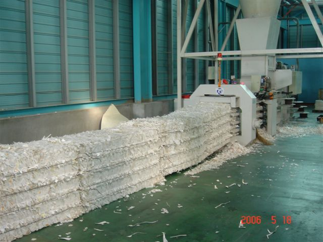 Automatic Horizontal Baling Machine - Automatic Horizontal Baling Machine (TB-070815)