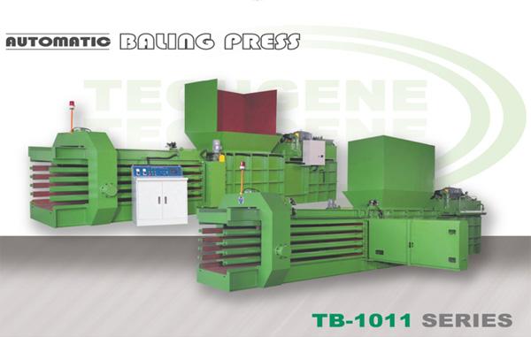 Prensa de balas horizontal automática serie TB-1011