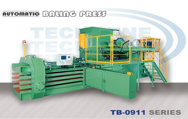 Automatic Horizontal Baling Press TB-0911 Series