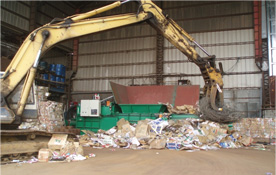 How to feed the waste material - Techgene Machinery Co., Ltd.