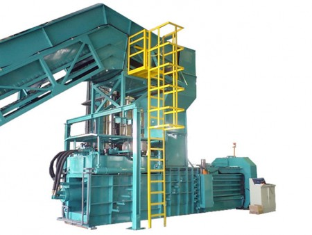 全自動廢紙打包機 - Automatic Horizontal Baling Press