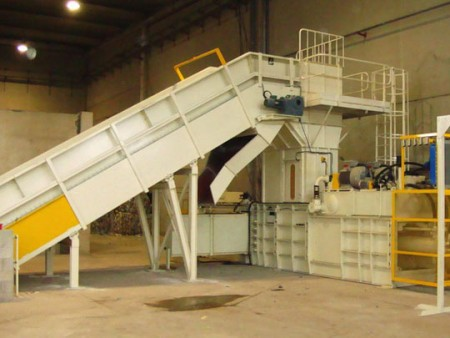 Automatic Horizontal Baling Machine - Automatic Horizontal Baling Press