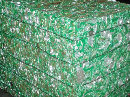 Baling Press For Aluminum Cans - Aluminum Cans