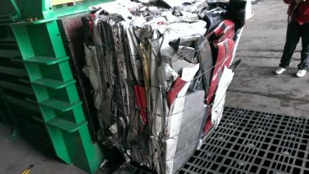 Baling Press for Stiff Plastic - Stiff Palstic