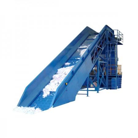 Nastro trasportatore a stecche d'acciaio - Nastro trasportatore a stecche d'acciaio