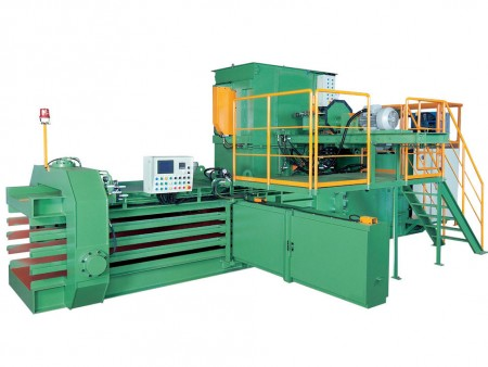 Máquina de enfardamento horizontal automática - Máquina de enfardamento horizontal automática (TB-091180)