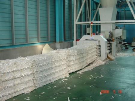 Máquina de enfardamento horizontal automática - Máquina de enfardamento horizontal automática (TB-070815)