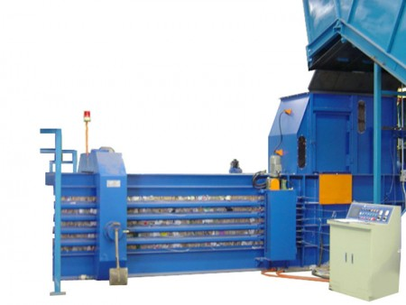 Automatic Horizontal Baling Machine - Automatic Horizontal Baling Machine (TB-070825)