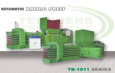 स्वचालित क्षैतिज बेलिंग मशीन TB-1011 श्रृंखला - स्वचालित क्षैतिज बेलिंग प्रेस टीबी -1011 श्रृंखला