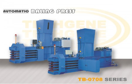 Automatic Horizontal Baling Machine TB-0708 Series - Automatic Horizontal Baling Press TB-0708 Series