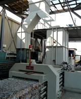 tái chế baler - Baler ngang và dọc Baler