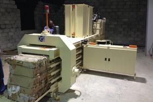 TB-0708 để thu gom phế liệu nhà máy giấy