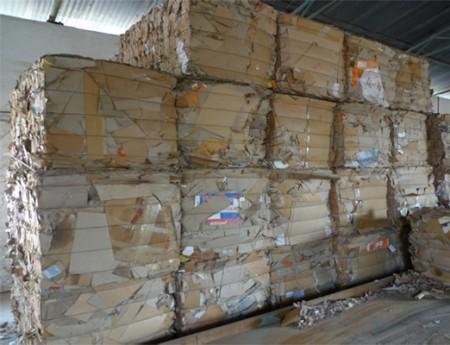 回收废纸捆包
