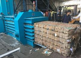 TB-1011全自動廢紙壓縮捆包機