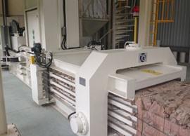 TB-0911全自动废纸压缩捆包机