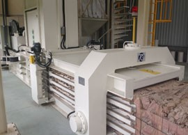 TB-0911全自動廢紙壓縮捆包機