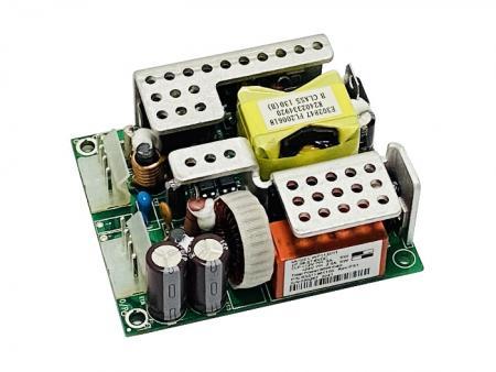 +12V或+24V 60W 隔離式開放式電源供應器 (直流 / 直流) - 直流對直流60W隔離式開關電源。
