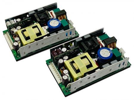开放式双组O / P 电源供应器(交流/ 直流) 50 ~ 300W Max - 开放式双组O/P,AC/ DC电源供应器。