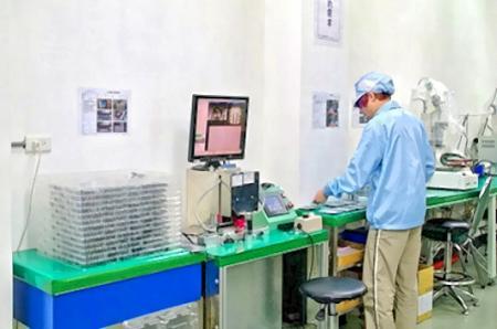 Máquina de inspección CCD.