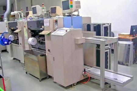 Máquina de colocación automática.