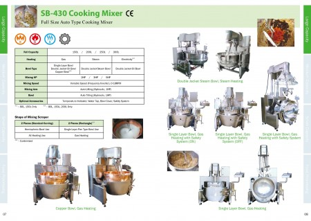 Food Cooking Mixer Catalogue_Page 07-08