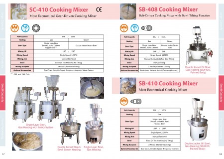 Food Cooking Mixer Catalogue_Page 17-18