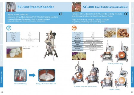 Food Cooking Mixer Catalogue_Page 19-20