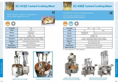 Food Cooking Mixer Catalogue_Page 21-22