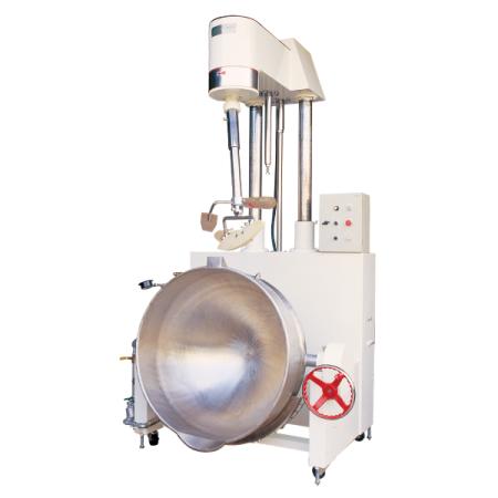 150〜250リットルの手動クランク式ダンピング+自動上昇加熱ミキサー - SB-450半自動加熱ミキサー