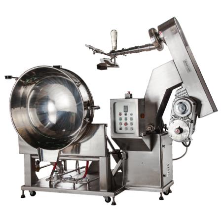 خلاط طبخ جامبو سعة 250 لتر أو أكثر - SB-460 تسخين بالبخار / مناولة أوتوماتيكية للمواد