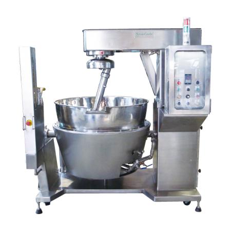 وعاء طهي سعة 200 لتر + خلاط طهي يعمل بالغاز