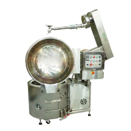 خلاط طهي سعة 150 لترًا قابل للإمالة + ذراع رفع - خلاط الطبخ SC-410C