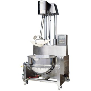 SB-430 Cooking Mixer, SUS#304 Body, Double Jacket Oil Bowl, Steam Heating