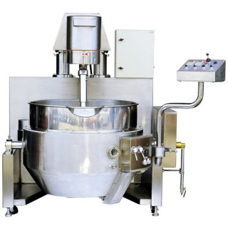 SB-430 Cooking Mixer, SUS#304 Body, Single Layer Bowl, Gas Heating(Auto Ignition)