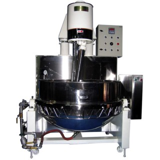 SB-430 Cooking Mixer, Painted Head& SUS#304 Body, Double Jacket Steam Bowl, Steam Heating