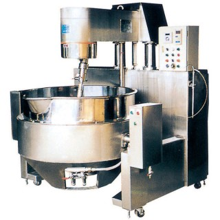 SB-430 Cooking Mixer, Painted Body, Double Jacket Oil Bowl, Gas Heating